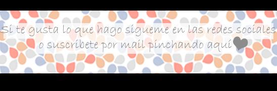 cartel de suscripción x mail