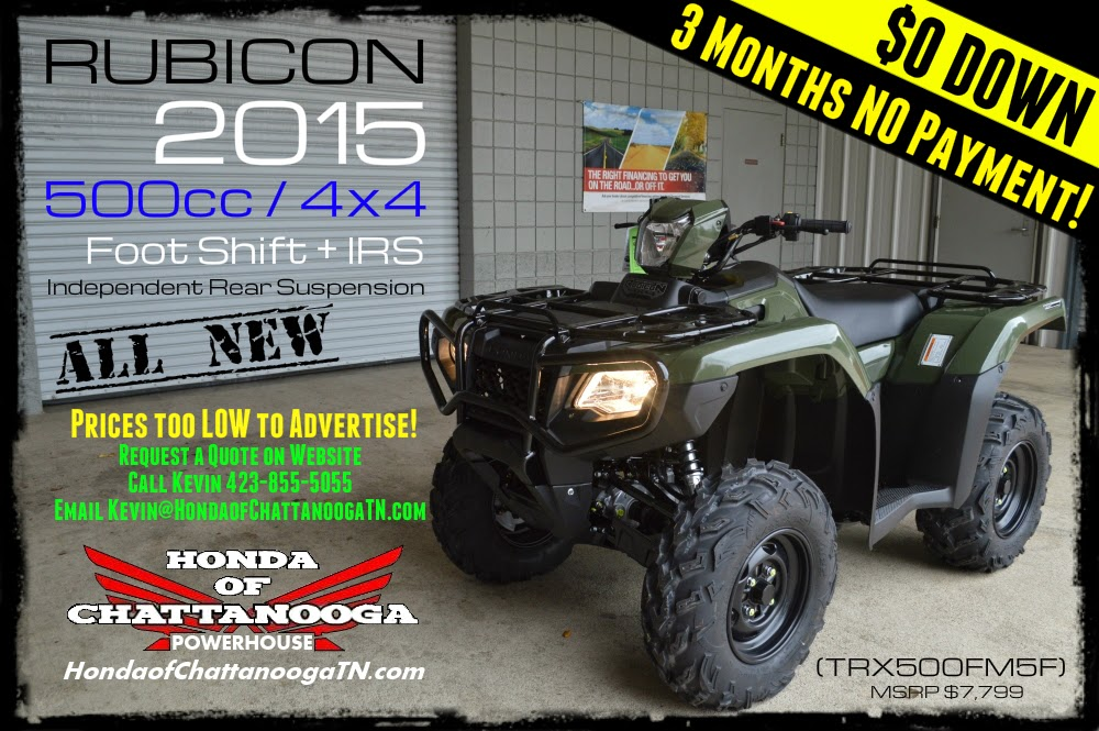 2015 Rubicon 500 For Sale Dalton Atlanta North GA Alabama Chattanooga TN