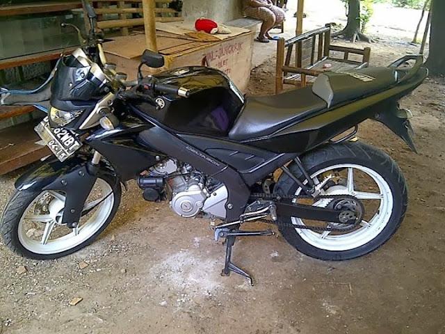 Hasil Modifikasi Motor Yamaha Byson
