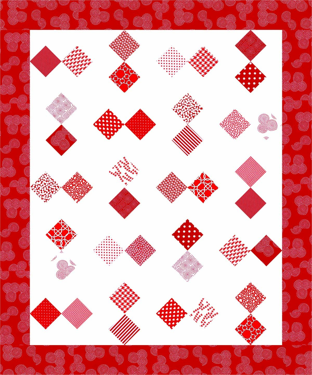 Quilt Inspiration Free Pattern Day Red And White Quilts