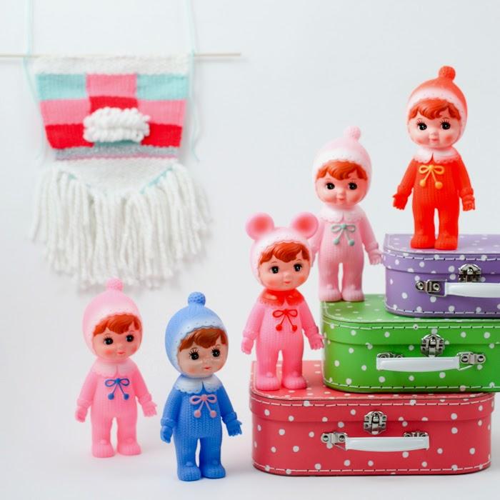 woodland dolls // Sunday in color blog
