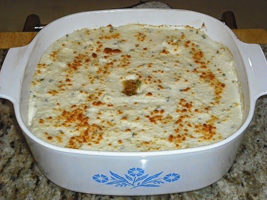 your topping mashed faux tatoes 1 head of garlic olive oil 2 heads of ...