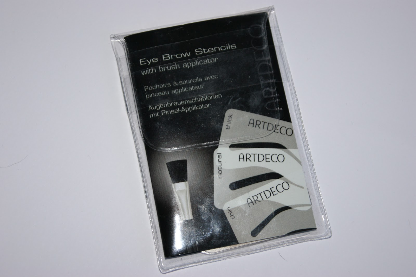 Art Deco Eye Brow Stencil Kit Review The Sunday Girl