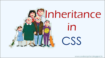 Inheritance in CSS