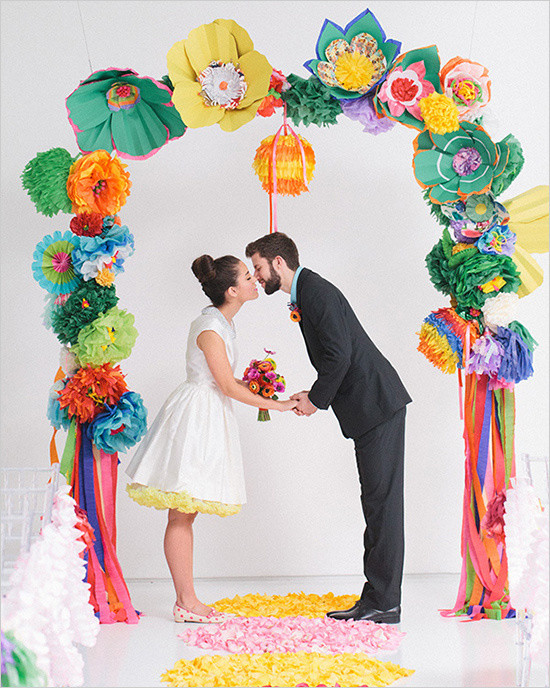 Diy wedding paper flowers craft best designer their wedding will always remain beautiful wedding flowers never wither then on hand to make a special part of your wedding greet door can never keep mightylinksfo