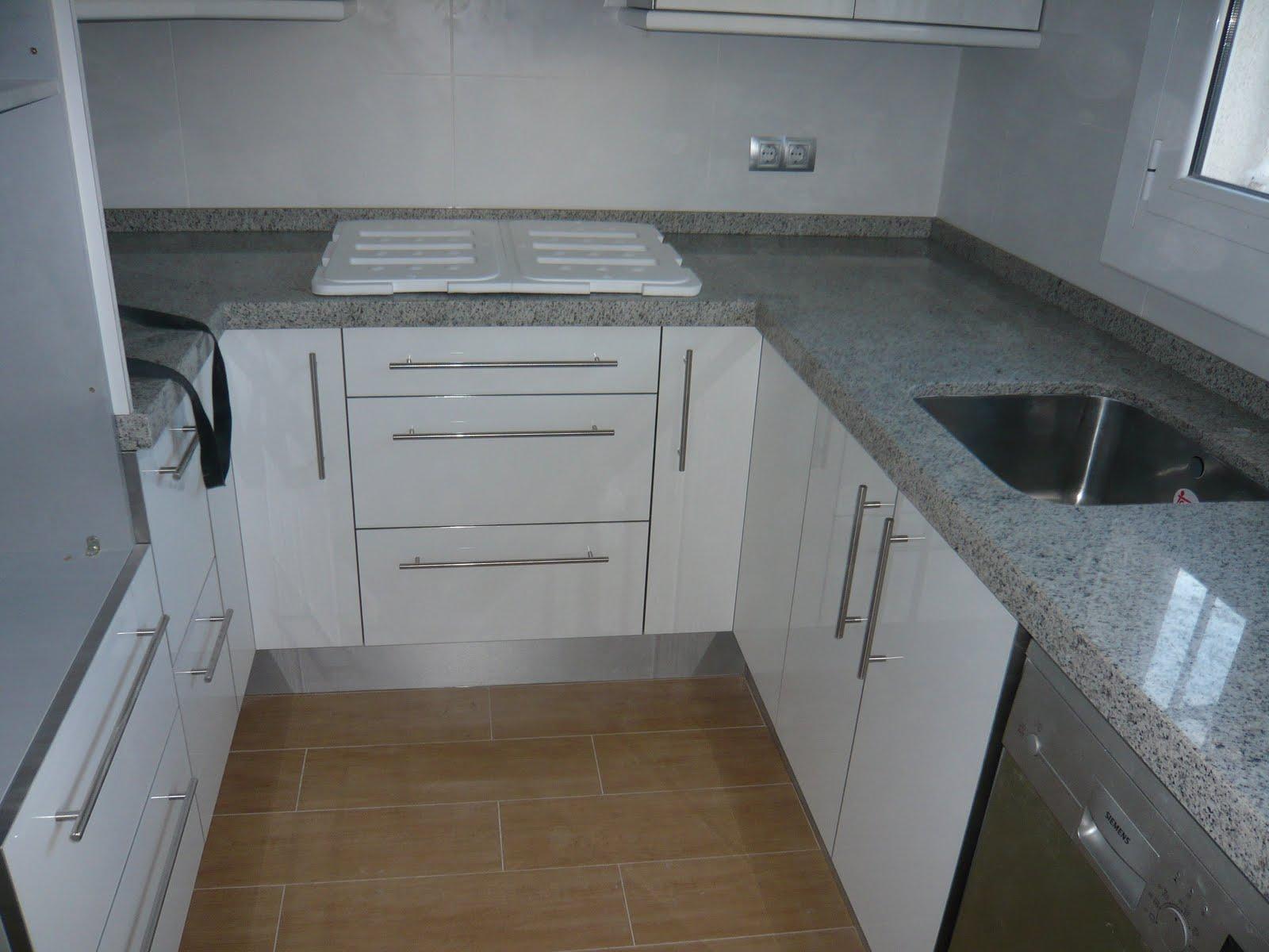Reuscuina cocina blanco brillo - Cocinas blanco brillo ...
