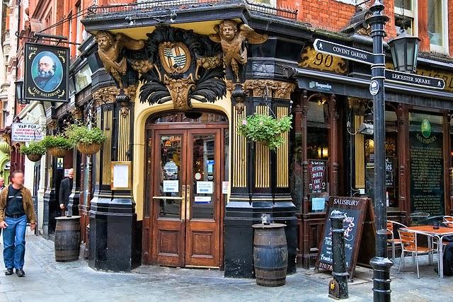 De pintas por los Pubs de Londres