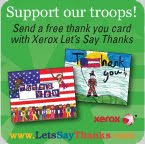 Lets Say Thanks To The Troops