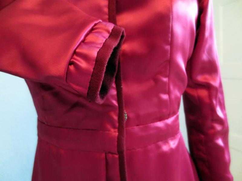 Lining a coat | www.stinap.com