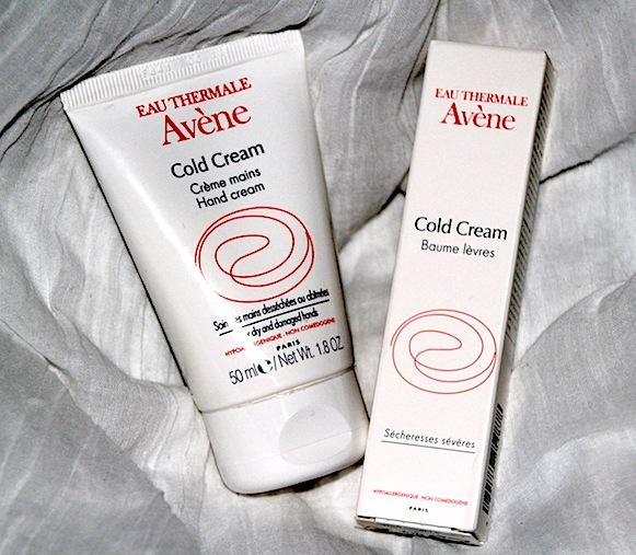 avene cold cream creme pour les mains baume lèvres test avis essai