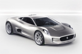 Jaguar Cars Super with F1 technology