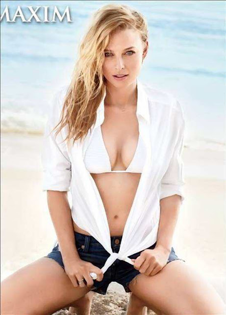 Rachel Nichols On Maxim Magazine