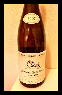 Tasting note on the 2007 Christian Moreau Chablis Grand Cru Valmur