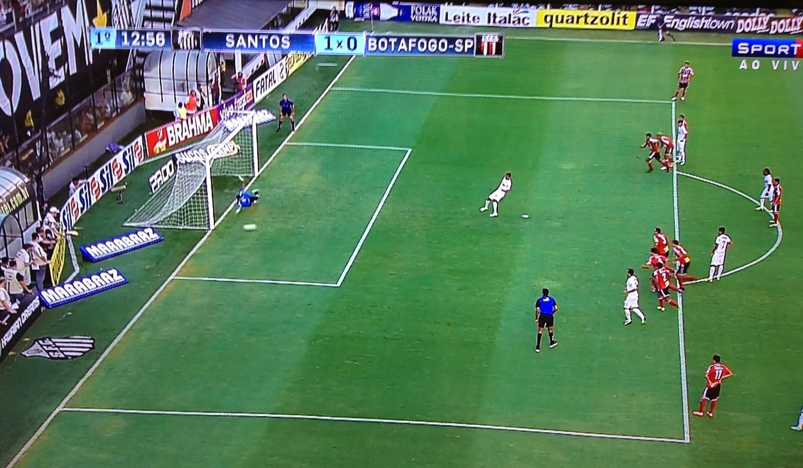 Cícero perde pênalti contra Botafogo/SP