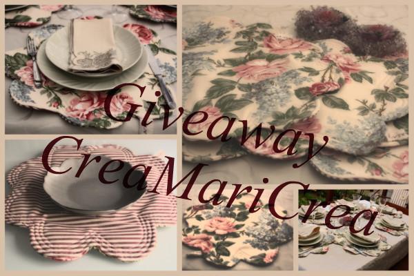 """Giveaway di... """"CreaMariCrea"""""""