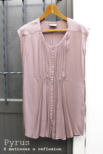Robe tunique taupe Pyrus London vêtements Mesa