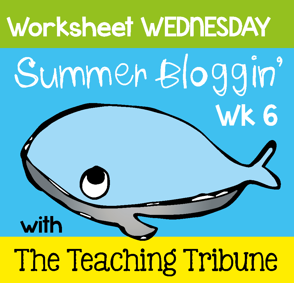 More Than Math by Mo: Worksheet Wednesday FREEBIE