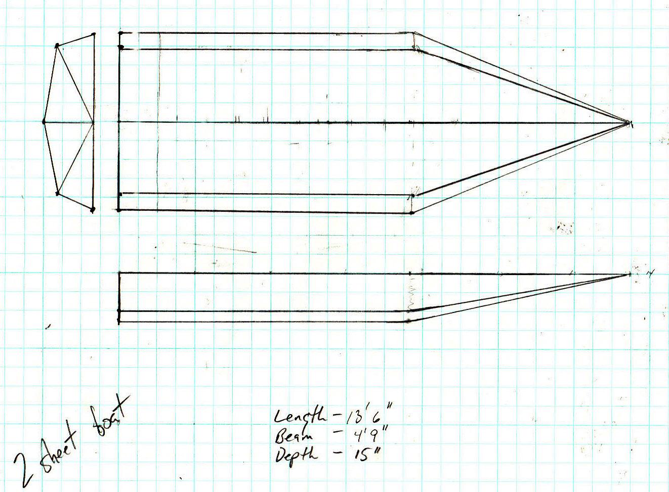 one sheet boat ideas