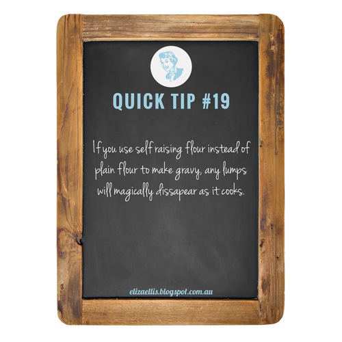 Quick Tip #19 from The Quick Tips Series by Eliza Ellis