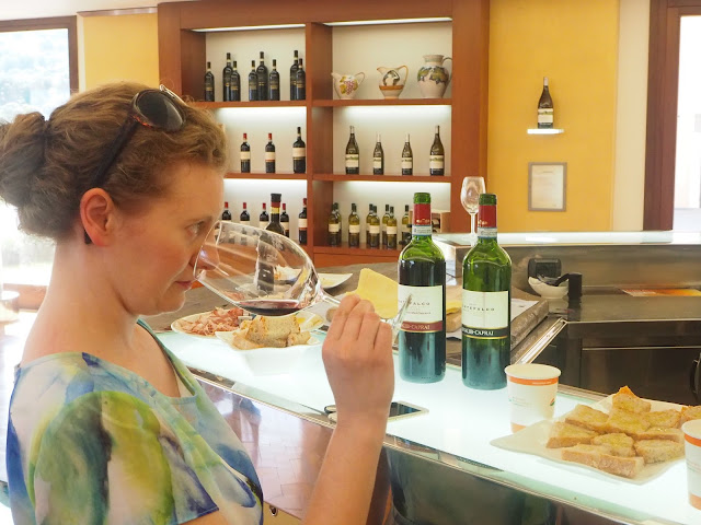 Wine tasting of Italian grapes in Australia