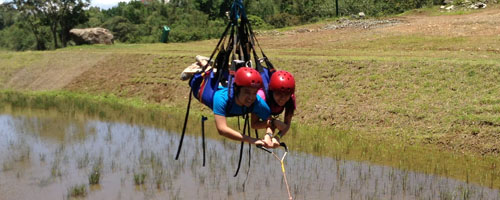Dropzone at Dahilayan Bukidnon