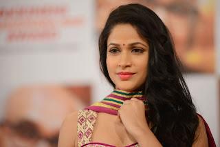 Lavanya Tripathi in Lovely Anarkali Dress at ANR Awards 2014