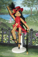 Jazzy The Jazz Dancer Felt Doll