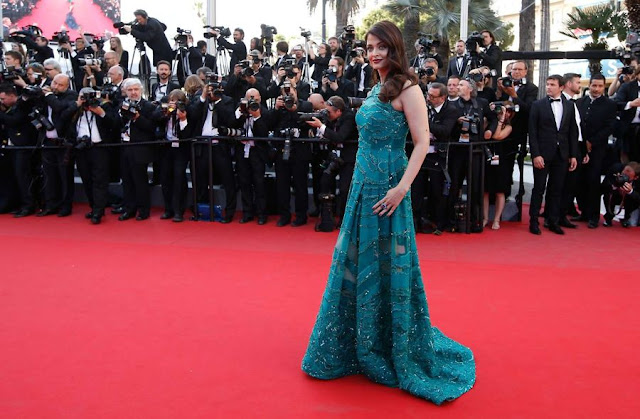 Aishwarya Rai Looks Dazzles In 'Elie Saab' Dress At 'Carol' Premiere During 68th Cannes Film Festival 2015