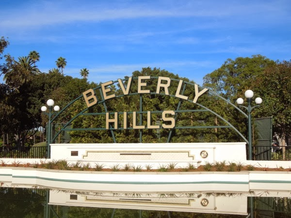 Beverly Hills Sign 2014