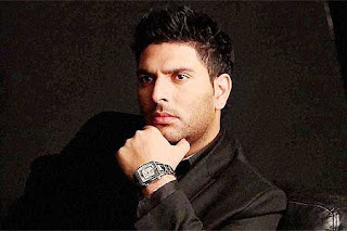 image of indian crickter yuvraj singh
