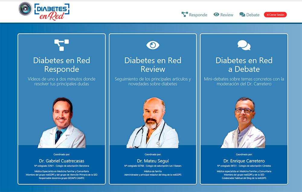 Diabetes en red