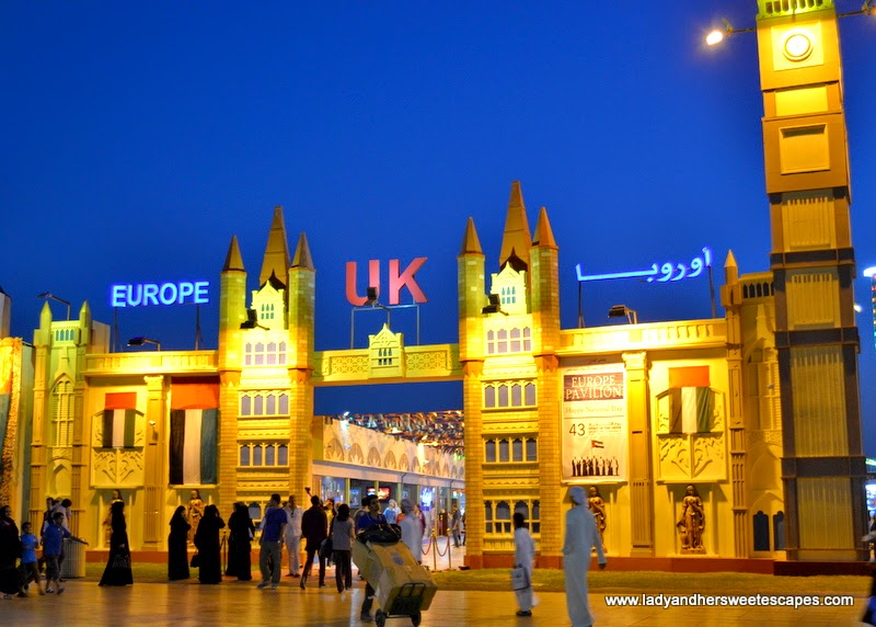Europe Pavilion at the Global Village