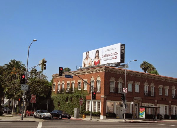 Satisfaction series launch billboard