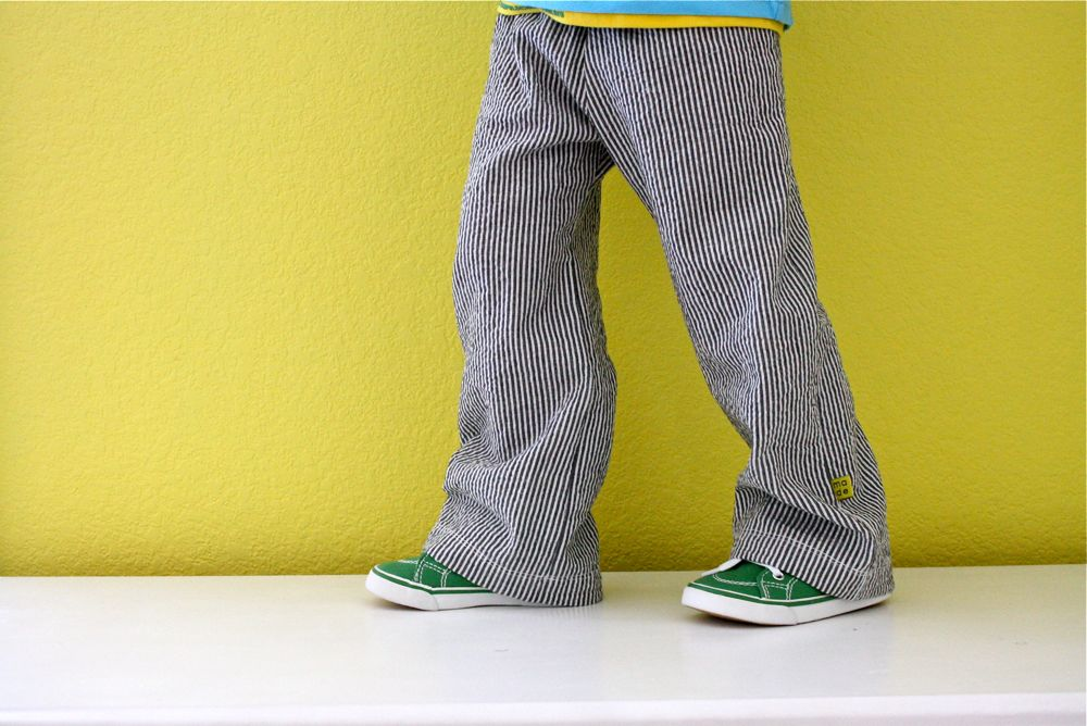 how to make elastic pants tighter