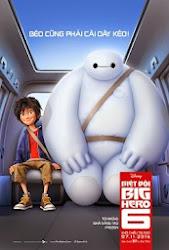 poster phim Biệt đội Big Hero 6