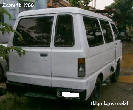 Dijual - Daihatsu zebra 1988, iklan baris mobil