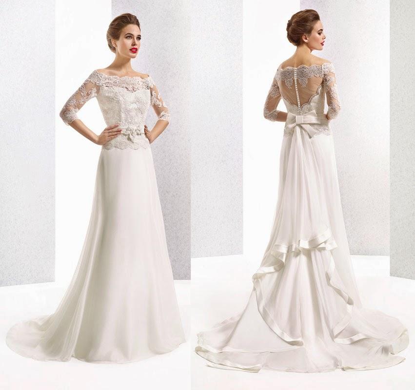 Rückenfreie Brautkleider, Hochzeitskleider mit schönem Rücken