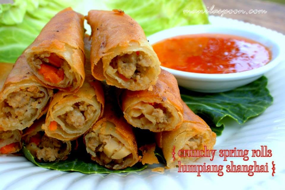 Lumpiang Shanghai Filipino Spring Rolls besides Fruit Spring Rolls furthermore Philippine Cuisine likewise Rice paper calories moreover Shrimp Spring Rolls. on sauce for spring rolls recipe