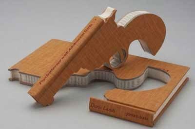 unik buku kreatif berbentuk pistol