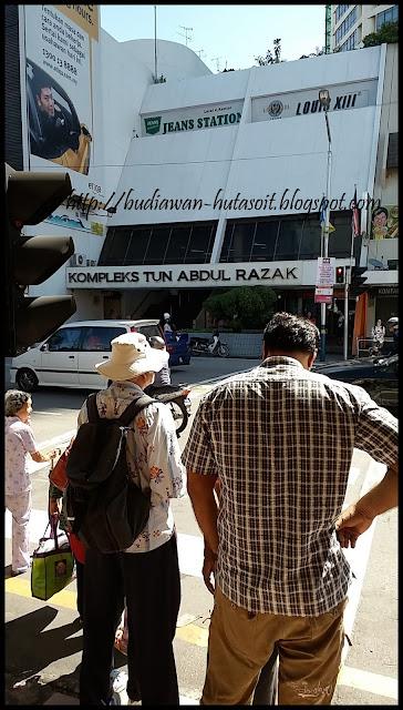 Komtar : Kompleks Tun Abdul Razak Penang Malaysia