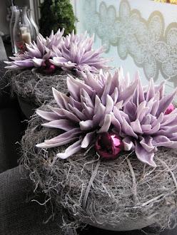 Mooie bloembakken