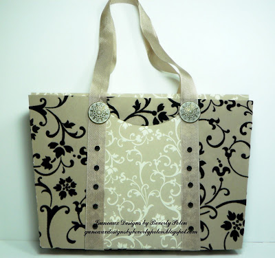 Mocha Morning Designer Series Paper Purse