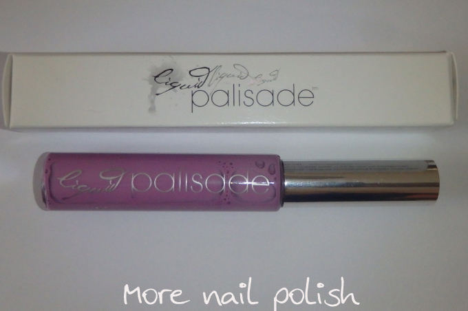 Liquid Palisade Is A Purple In With Fine Brush That Specifically Designed As Masking Fluid To Protect Around Your Nails When Doing