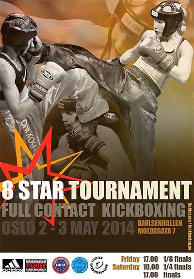 Oslo, Norwegia, kickboxing, full contact, turniej, międzynarodowy, Karolina Gleisner, Radosław Laskowski, Jakub Cuszlag