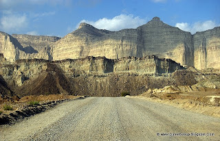 Is this Grand Canyon or Texas? No. It's Hingol National Park of Baluchistan, Pakistan. It got Mysterious Mud mountains, beautiful blue water Hingol river, desert and deep blue Arabian sea. [3.5 hrs drive from Karachi on Makran coastal highway]