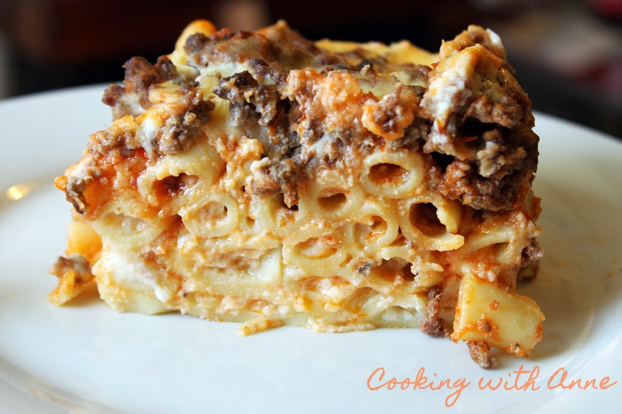 Baked Ziti with Meat Sauce and Béchamel
