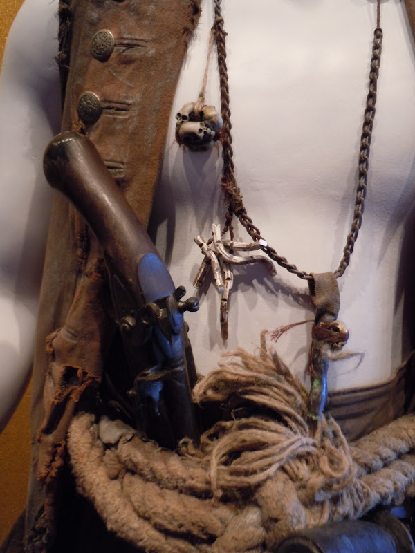 Zombie Quartermaster costume detail Pirates of the Caribbean 4