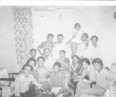 Sudhanshuji seen with friends in an old photograph