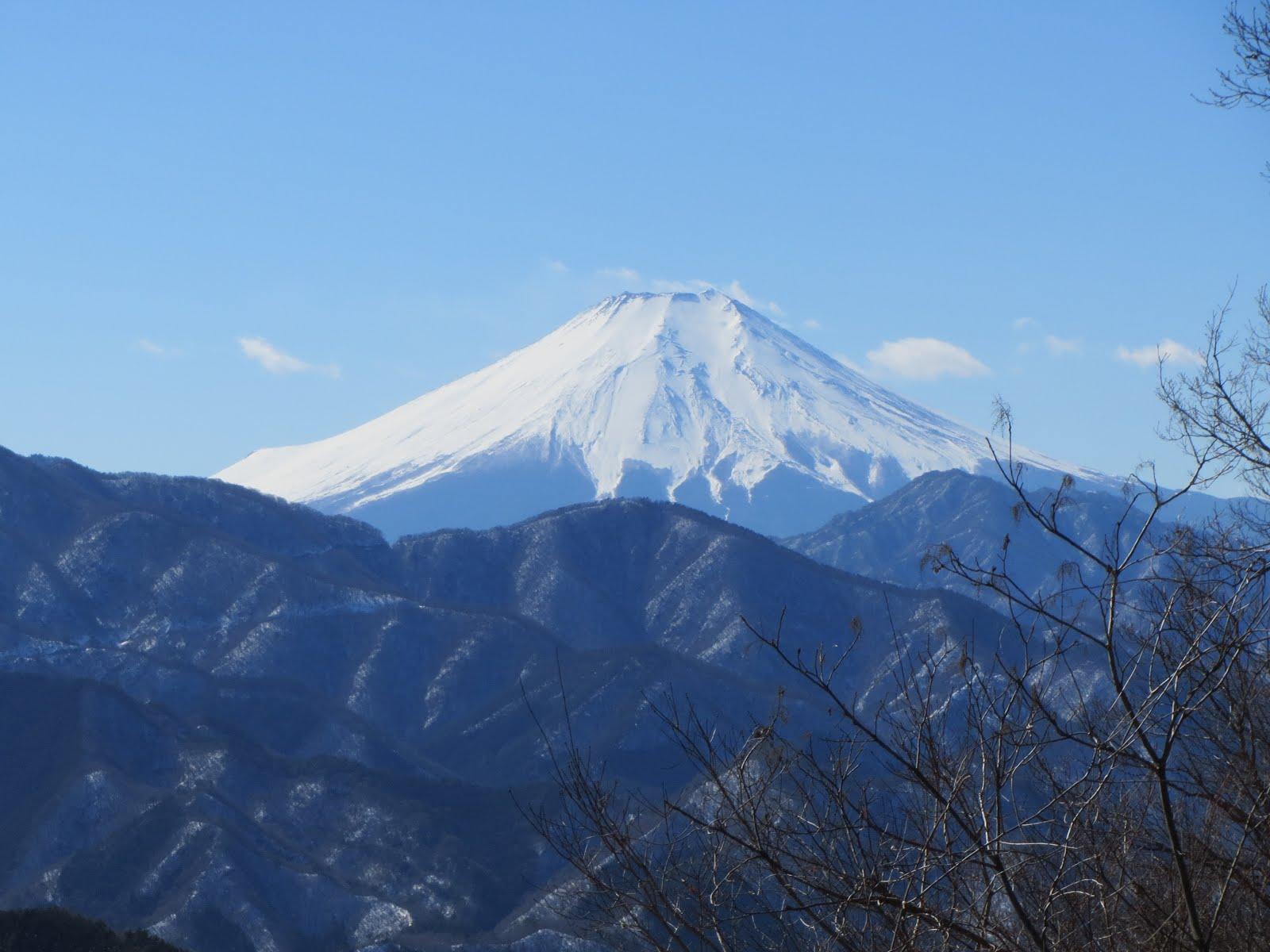 2018/02/07 雛鶴神社~倉岳山 中央線
