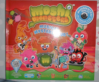 Moshi Monsters, book, augmented reality